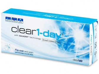 Clear 1 Day (30 Pack)