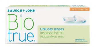 Biotrue 1 day for astigmatism 30 lenti
