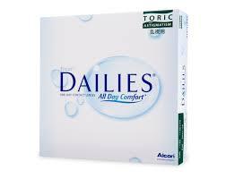 Focus Dailies Toric (90 Pack)